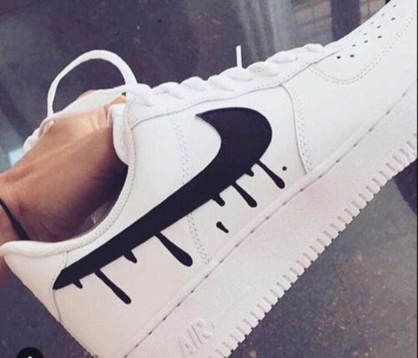 Shoes Nike Trippy Drip Nike Shoes Nike Air Force 1 Wheretoget