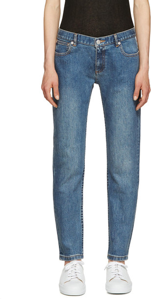 A.P.C. jeans skinny jeans cropped