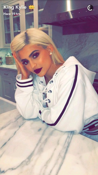 top hhodie sweater kylie jenner