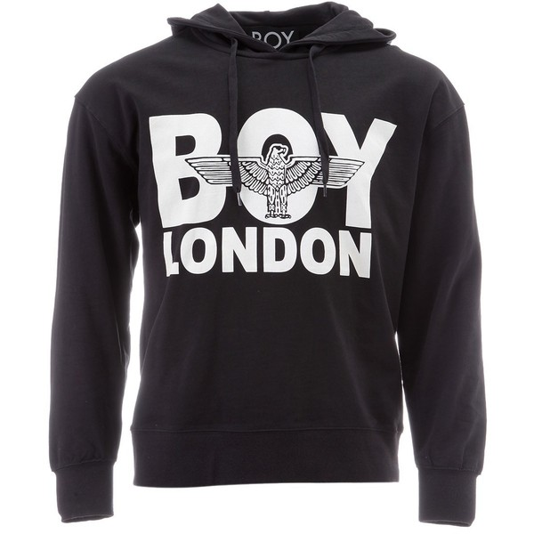 Boy London Eagle Hood Sweat Black - Polyvore