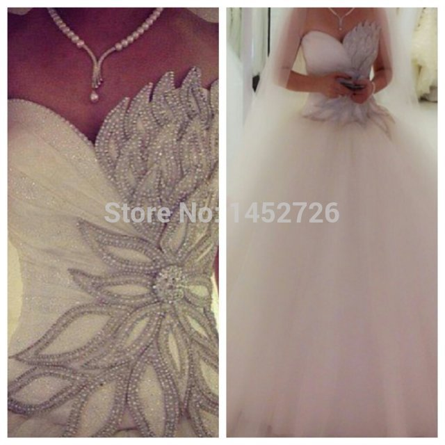 More detailed picture about vestidos de noiva real wedding dresses ball gown crystal wedding dress 2014 bridal gown tulle wedding dress robe de mariage picture in wedding dresses from romantic love wedding dress co.,ltd.