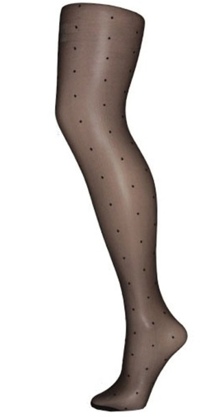 collants stockings pantyhose pois dotted polka dots tights underwear