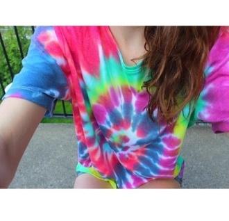 shirt tie dye t-shirt