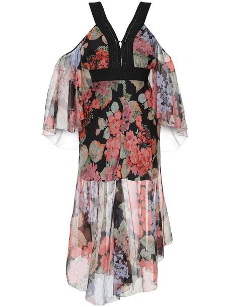 Alice McCall dress women black silk