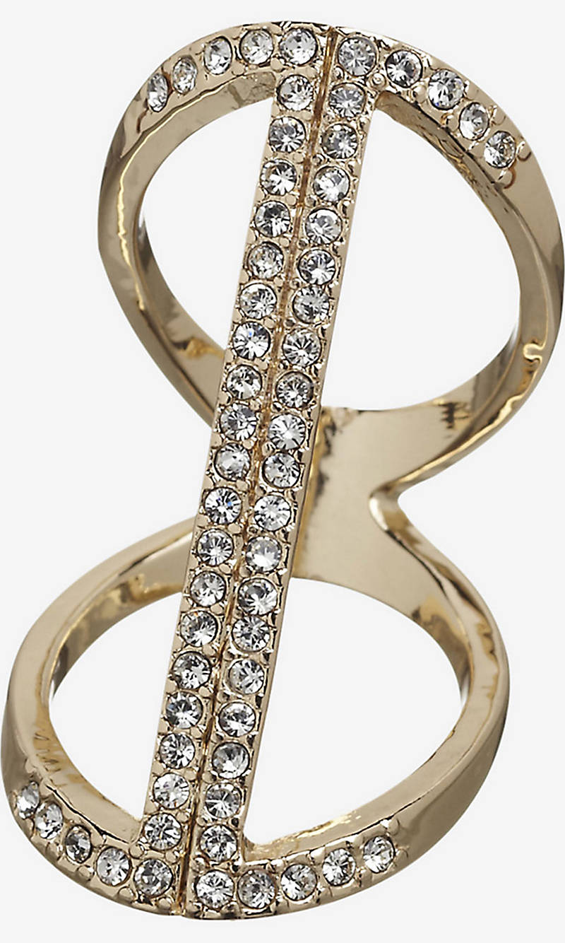 FLOATING PAVE BAR RING from EXPRESS