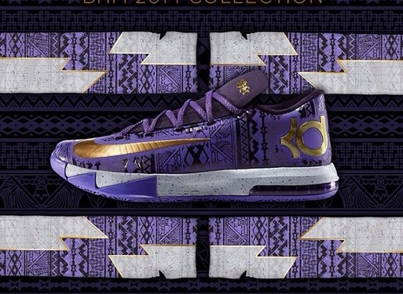 shoes purple nike kds purple shoes aztec aztec print