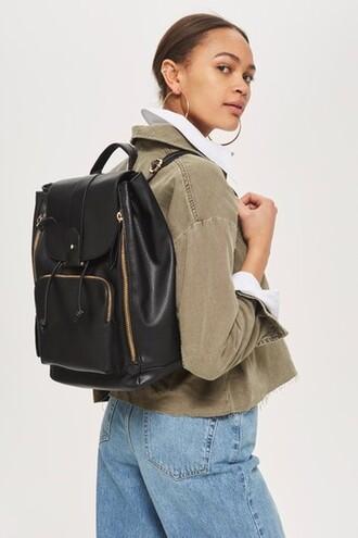 new backpack black bag