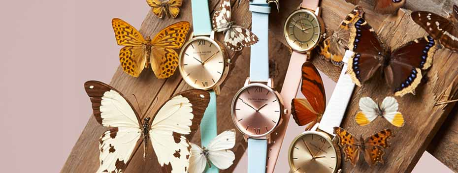 Vintage inspired fashion watches by Olivia Burton