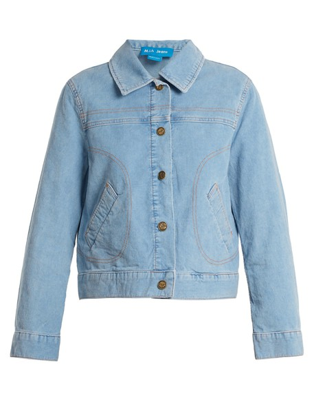 M.i.h Jeans jacket cotton light blue light blue