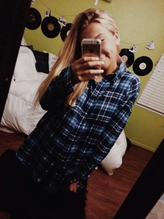 flannel shirt top