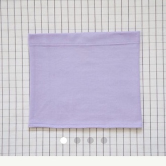 top tube top purple