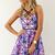 Dusk Prism Flare Dress | SABO SKIRT