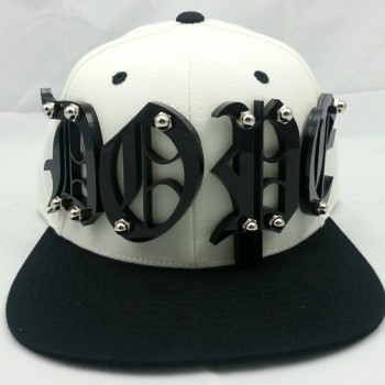 Shady Capz |   DOPE – NATURAL WHITE / BLACK SNAPBACK – O.E. STYLE