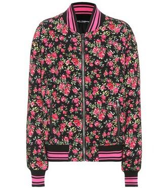 jacket bomber jacket floral