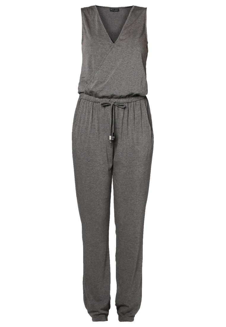 Soft Rebels ASHLEY - Jumpsuit - grey melange - Zalando.de