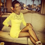 dress,clothes,yellow,party