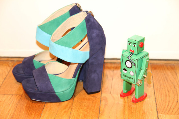medium heels purple shoes blue shoes shoes
