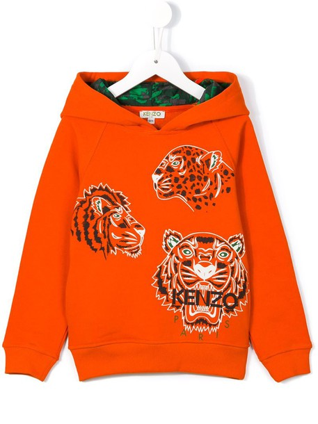 f72a728ea hoodie, girl, toddler, tiger, yellow, orange, sweater - Wheretoget