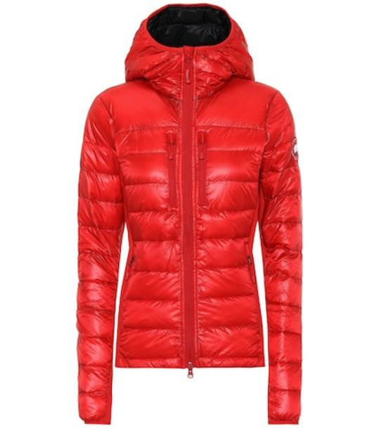 Canada Goose HyBridge® Lite down hoodie in red