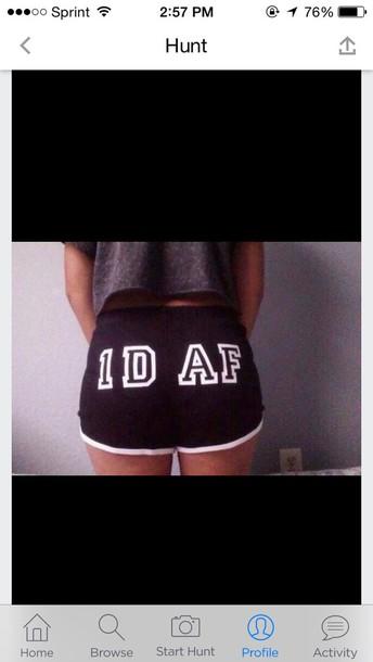 shorts 1d af shorts