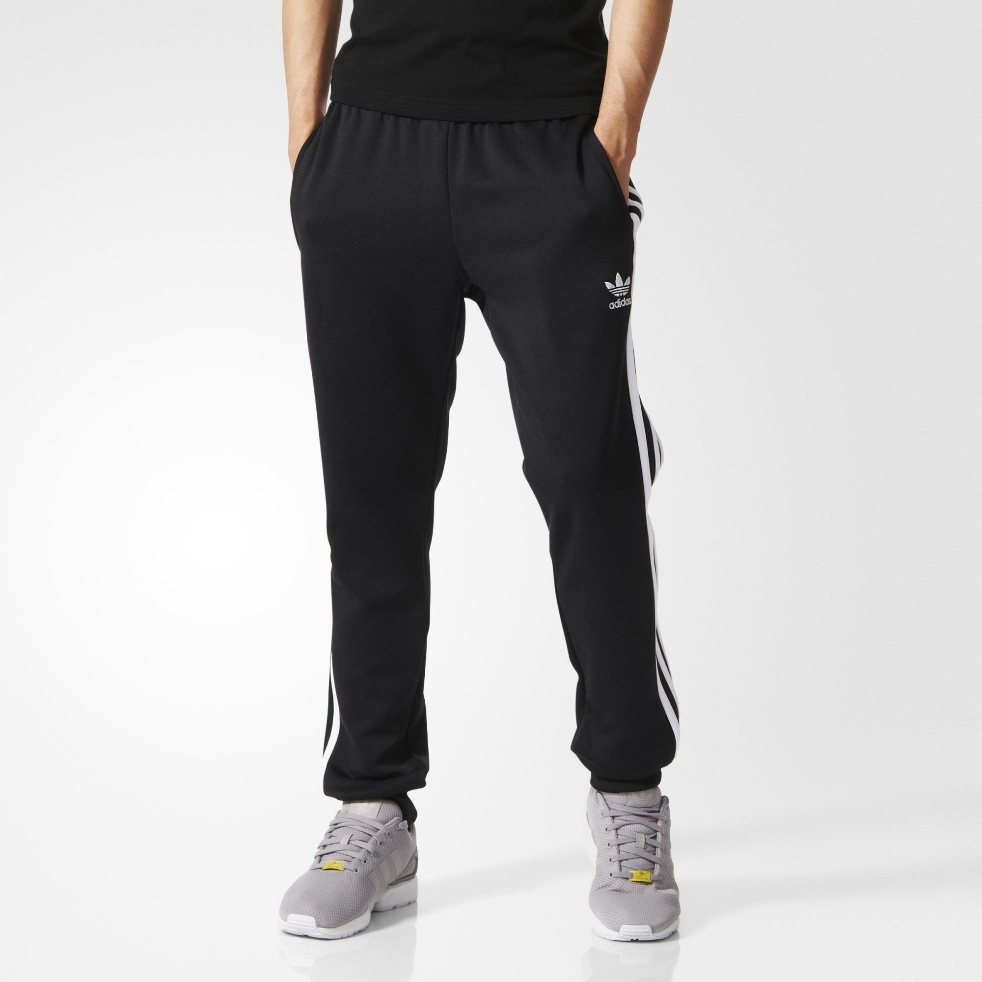 sports shoes b587a 3c373 adidas Superstar Cuffed Track Pants - Black   adidas US