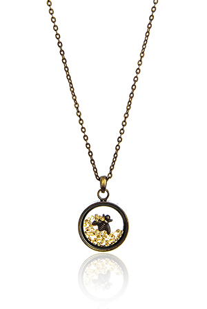 Antique Style Honey Bee Necklace