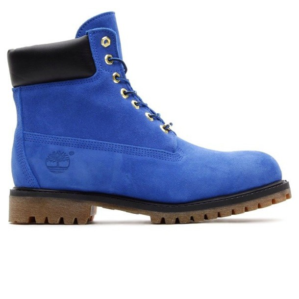 shoes timberlands blue suede shoes boots wheretoget