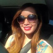 michelle phan,sunglasses,yellow frame