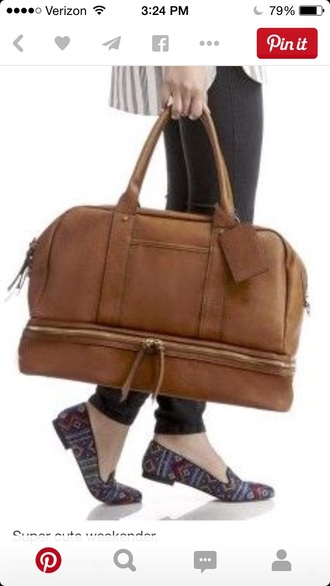 bag brown bag leather bag