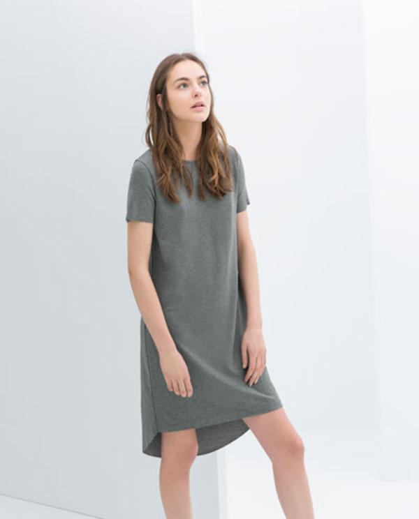 dress grey zara belguim