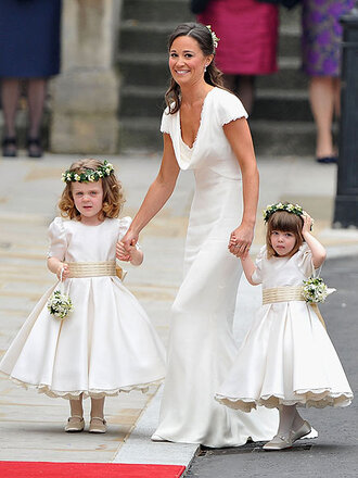 pippa middleton celebrity white dress dress