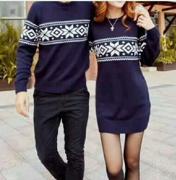 SweatersDress Cute SweatersDress DressSweater DressSweater Cute Couple Cute Couple DressSweater SweatersDress Couple DressSweater VMqSGzpU