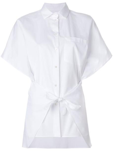 Valentino shirt women white cotton top