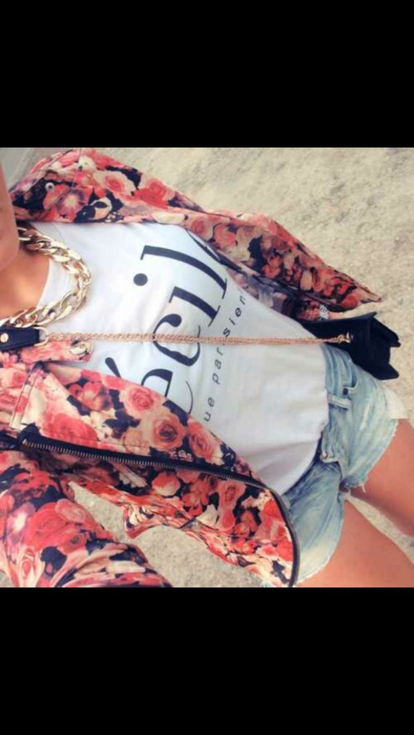 jewels bag jacket cardigan t-shirt romper