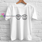 Sad and happy t shirt gift tees unisex adult cool tee shirts buy cheap