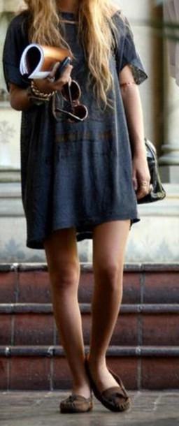 boho oversized t-shirt t-shirt dress t-shirt