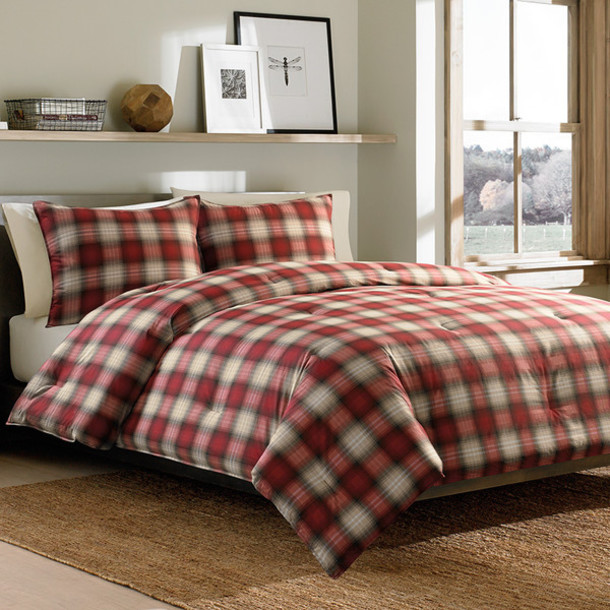 Home Accessory Plaid Home Decor Lumberjack Bedding