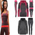 3 Pcs Lady Women Tracksuit Hoodies Sweatshirt Pants Sets Sport Wear Casual Suit