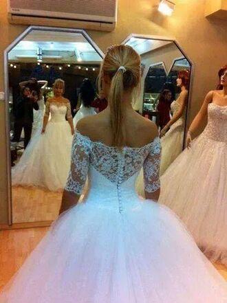 wedding dress princess wedding dresses laceback