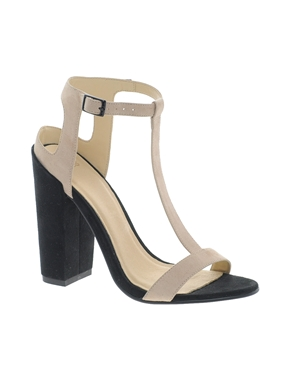 ASOS | ASOS HEARTBEAT Heeled Sandals at ASOS