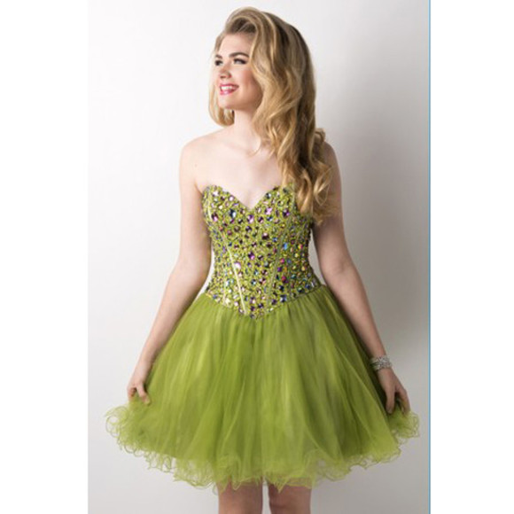 lovely green dress party dress cocktail party dress