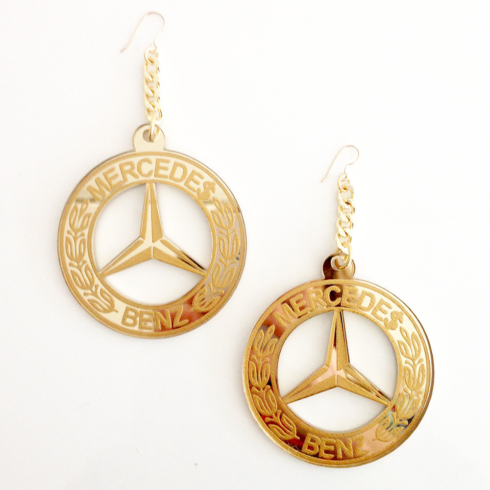Mercedes Benz Earrings