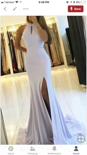dress,mermaid,slit with open back,form fitting,formal dress