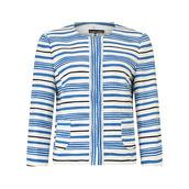 jacket,stripes,striped jacket,blue,blue jacket,blue stripes