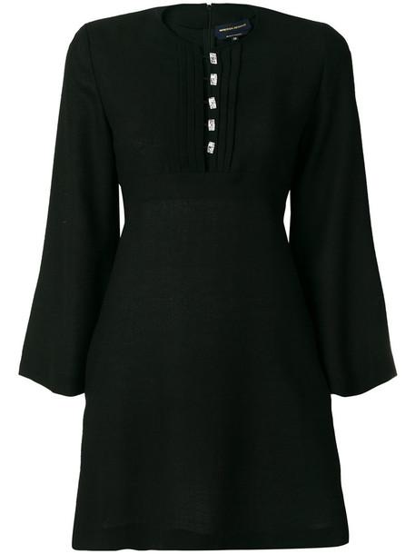 Vanessa Seward dress women black silk wool