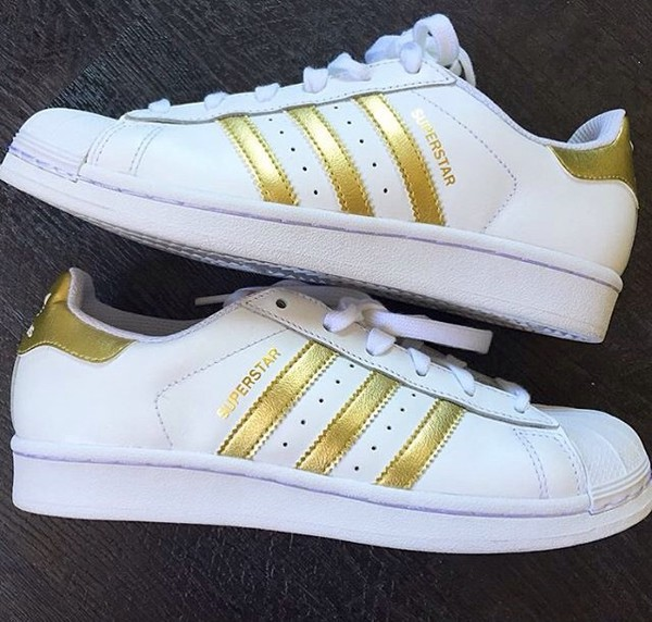 adidas gold superstar trainers