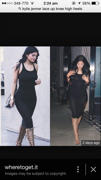 shoes nude lace heels worn by kylie jenner