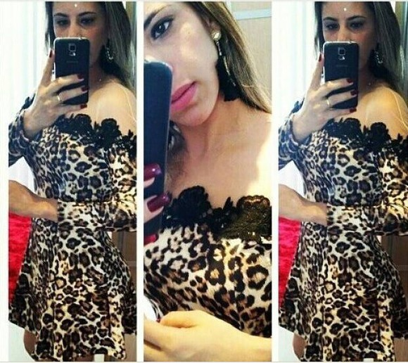 leopard print leopard dress cute dress lace dress black dresses mini dresses so beautiful off shoulder dress sexy dress