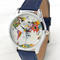 World map watch | women watches | leather watch | men's watch | traveler gift | watercolor | gift for traveler | wanderlust | free shipping