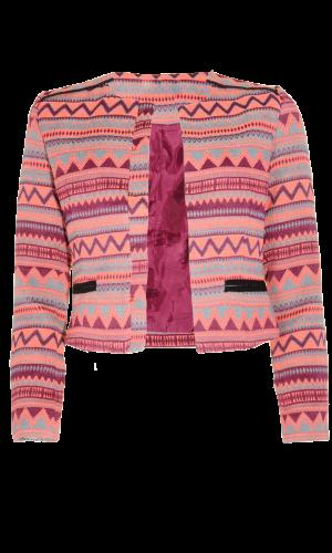 Jacket tribal trend pink